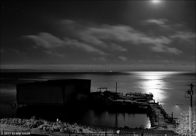 Haynes Warf by moonlight