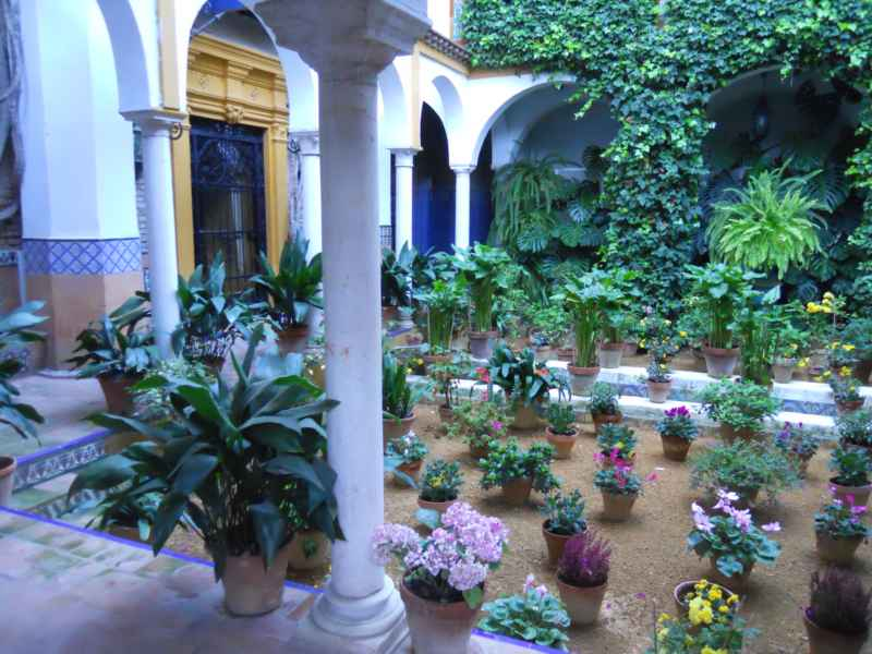 Patio andaluz dedicado a Washington Irving 3