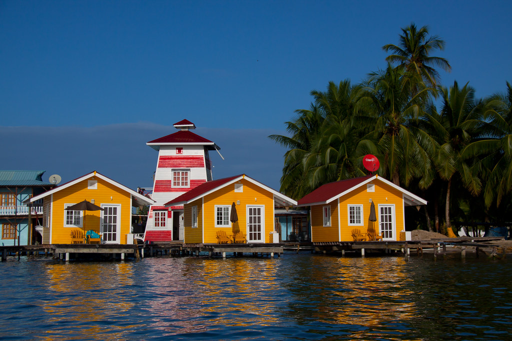New Bocas Hotel: El Faro del Colibri Hotel on Isla Carenero - Bocas del Toro, Panama