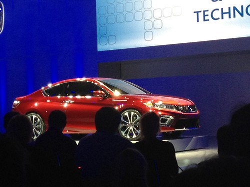2013 Honda Accord Coupe Concept - Live from the 2012 Detroit Auto Show -  Jan 10, 9 38 27 AM Photo