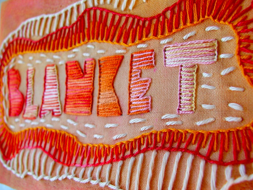 blanket (aka buttonhole) stitch—TAST week 2 | by Smallest Forest