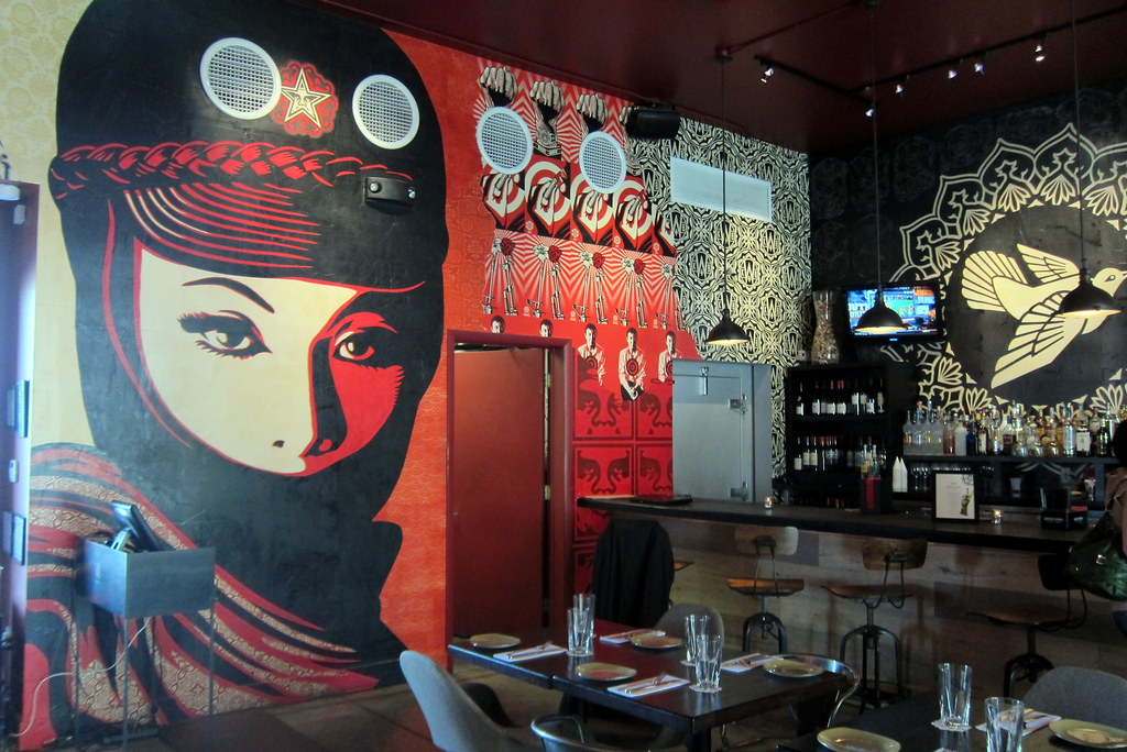 Miami Wynwood Wynwood Kitchen Bar Shepard Fairey Flickr