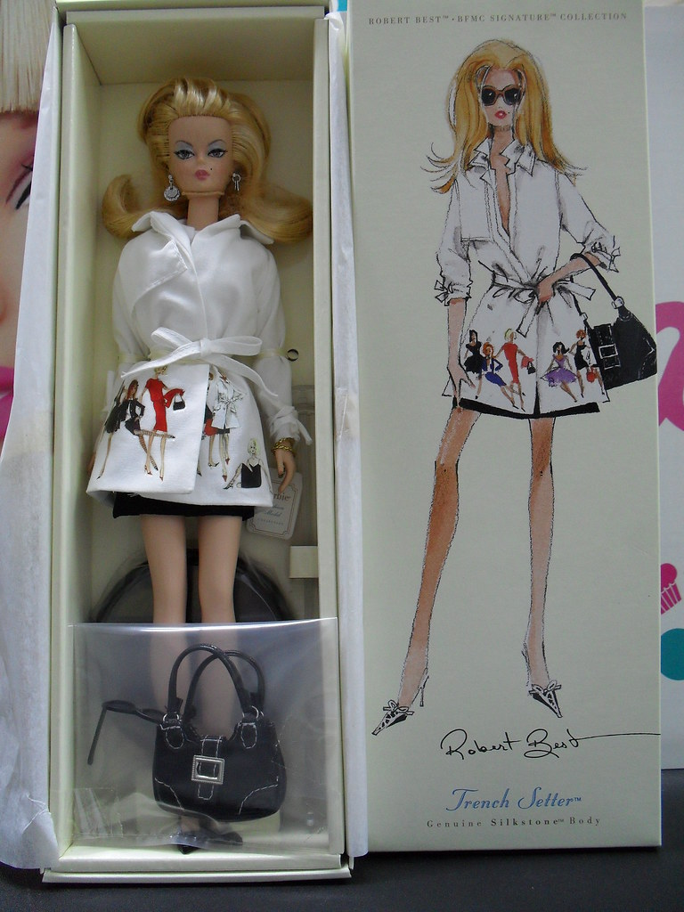 Limited Edition Silkstone Trench Setter Barbie