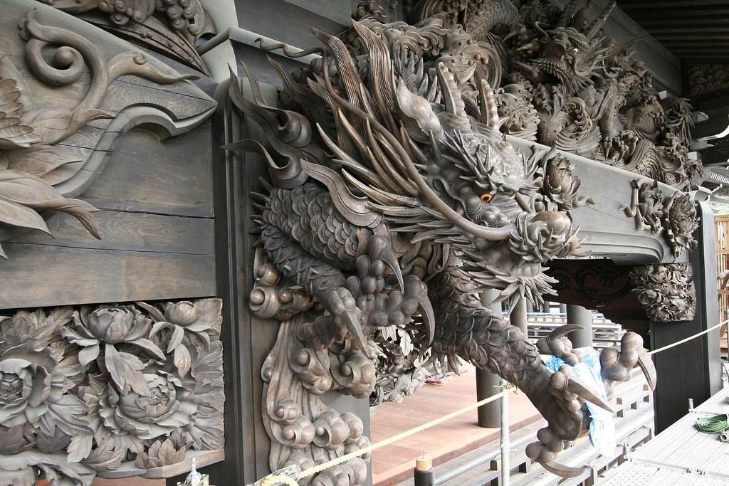 龍 彫刻 Sculpture - Japanese Garden&Art - 念佛宗(念仏宗無量寿寺) 兵庫県加東市
