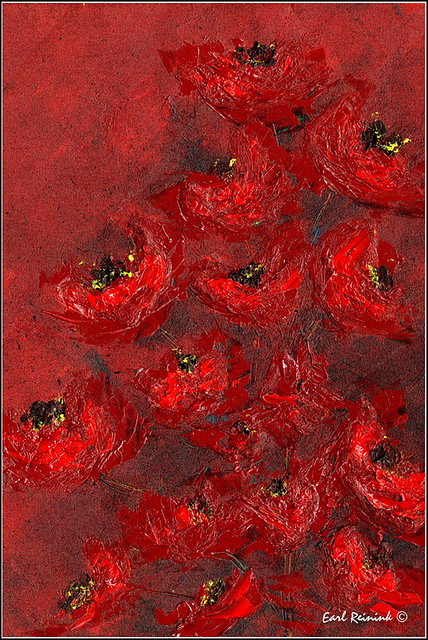 02-037 Red Peonies