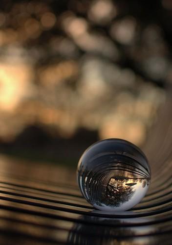 sunset texas bokeh crystalball planotexas beyondbokeh
