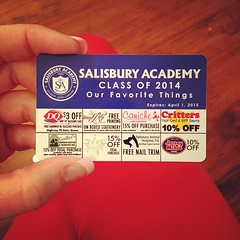 Salisbury Academy discount cards for sale in the store! $10.00 featuring yours truly along with 23 other Salisbury businesses! #theletteredlily #supportlocal #localschools #salisburyacademy #discount #tendollars