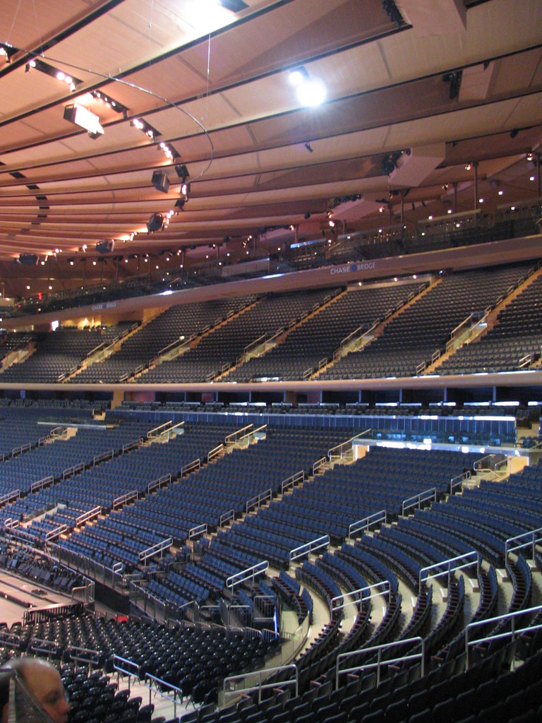 The Newly Completed Renovation Of Madison Square Garden Flickr