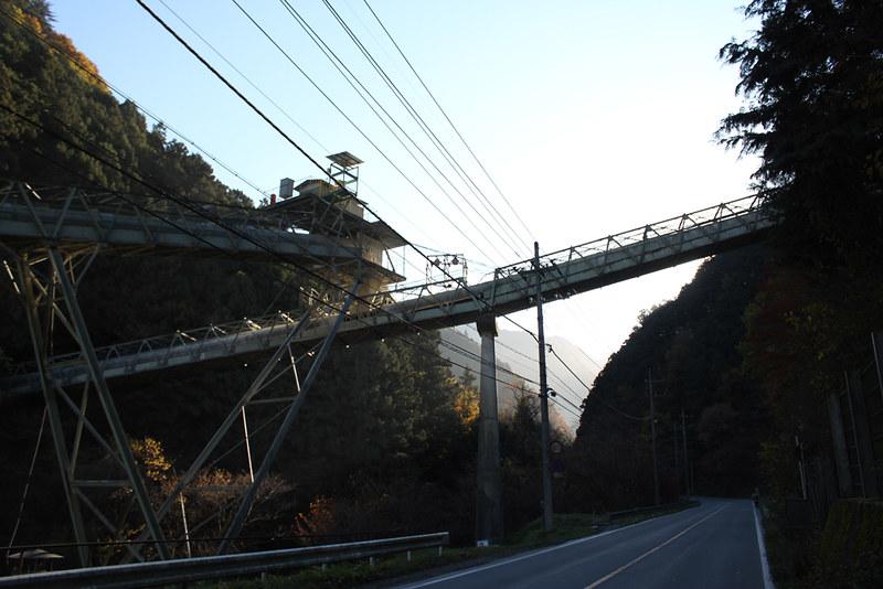 武甲山の石灰工場