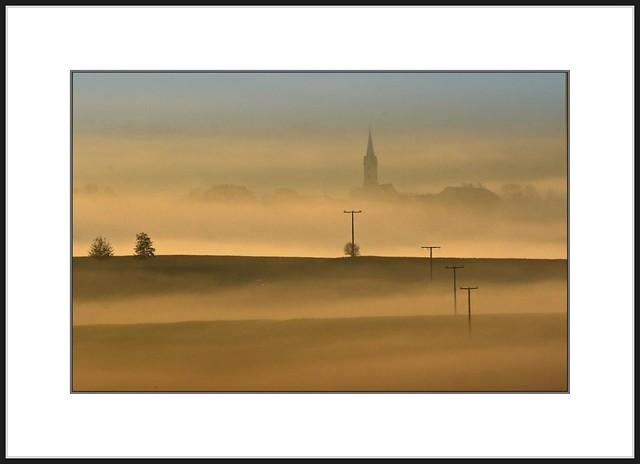 Novembernebel - Novembersonne  (november-fog - november-sun)