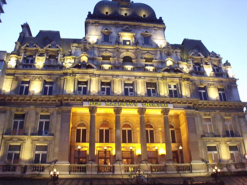 Her Majesty's Theatre - Haymarket, London - The Phantom of ...
