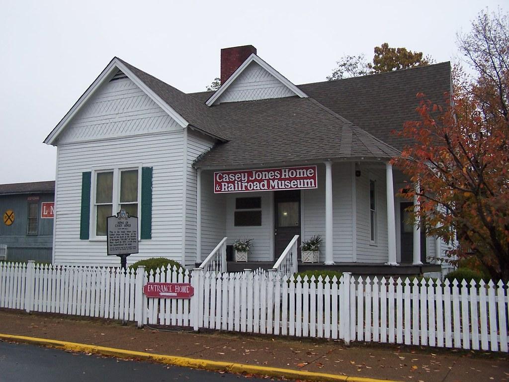 Casey Jones Home Railroad Museum