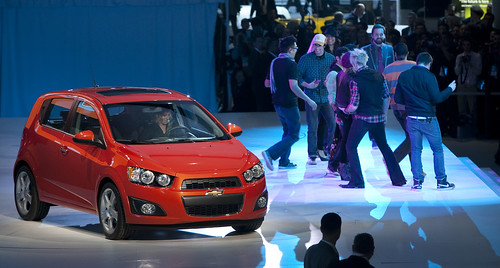 NAIAS 2011: 2012 Chevy Sonic Hatch Photo
