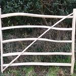 Rustic Chestnut Gate