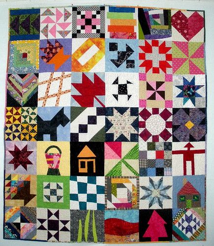 Block Lotto Community Quilt | by jeansophie