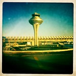 Landing on Planet Earth - Madrid Airport Control Tower