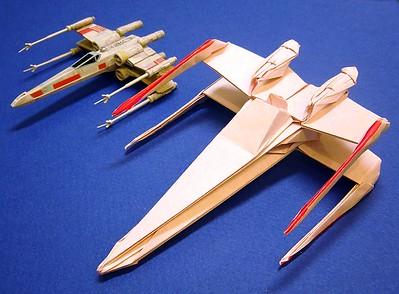 Origami X-wing - Album on Imgur | 294x399