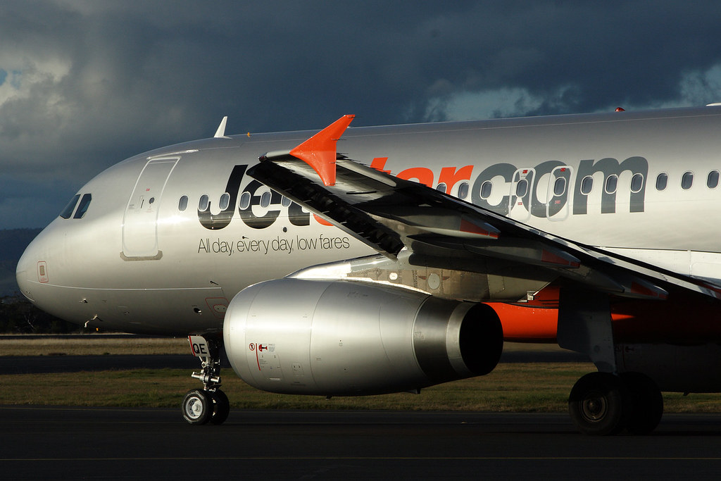 Jetstar Airbus A320 on the tarmac