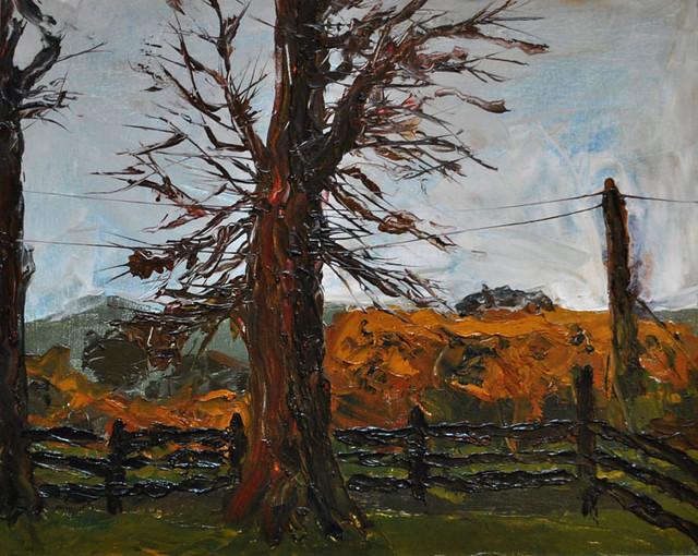 Ballyneale 2011 by Orla Clancy, oil on canvas