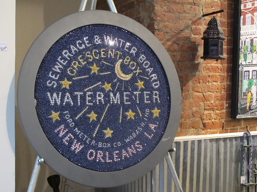 A New Orleans staple, the water meter! Photo by Briana Prevost