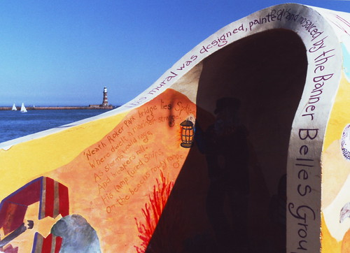 Roker - sea front mural | by davewebster14