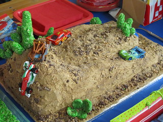 Cars Road Rally Cake | by kwootten2