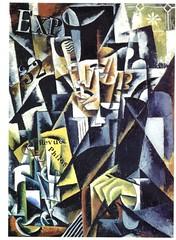 Liubov Popova: Portrait of a Philosopher (Cubist Construction, 1915)