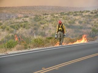 Firefighter Burning