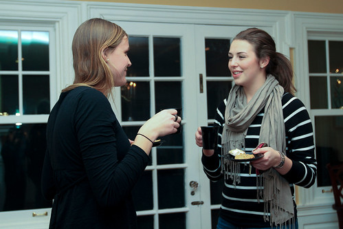 Students Chat: President Hosts Study Break at Bryn Mawr