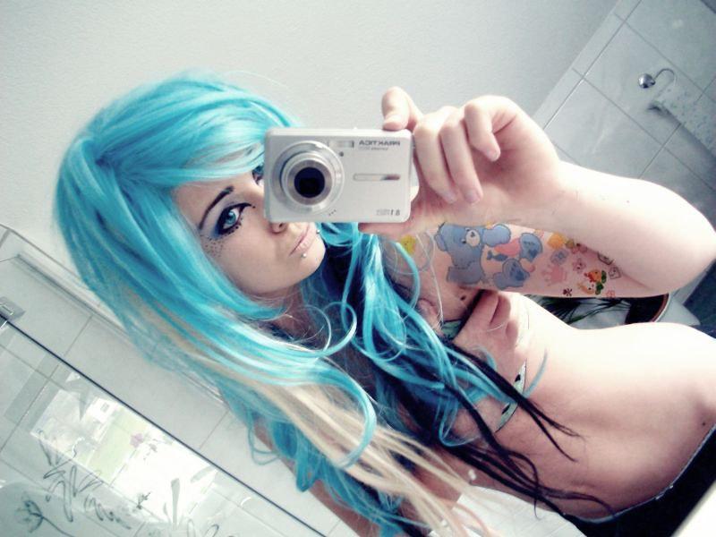 Emo piercings