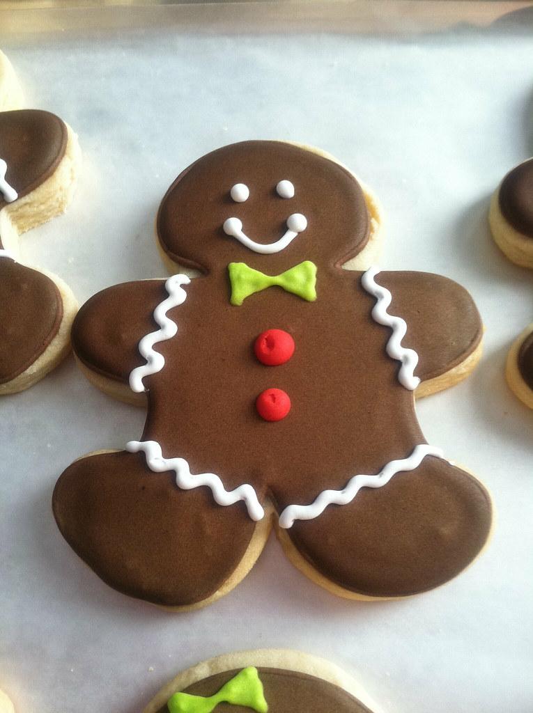Gingerbread Man Sugar Cookie Maria Flickr