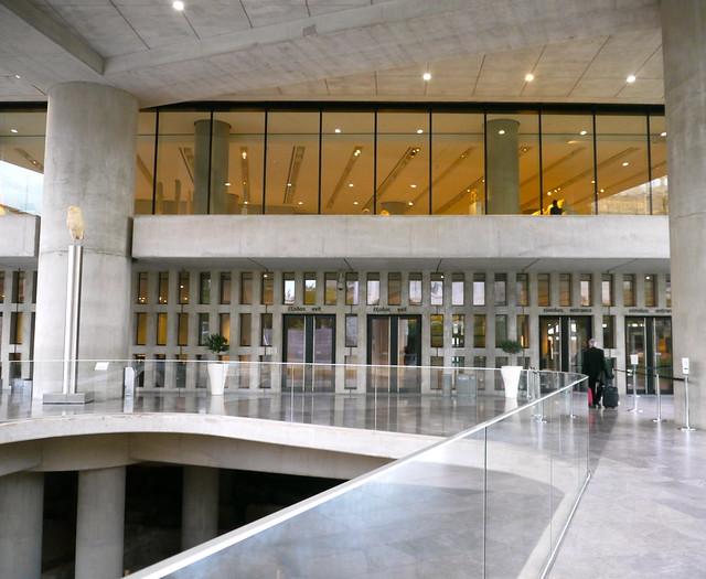 Athènes, Grèce: entrée du Musée de l'Acropole