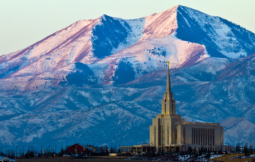 usa sunrise landscape temple utah ut spire mormon lds 2012 southjordan oquirrhmountains saltlakecounty oquirrhtemple ldstemplespire