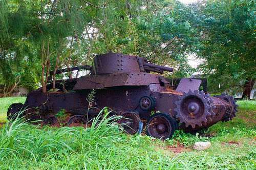 Saipan Type 97 Japanese Tank | by Reef_Wreck