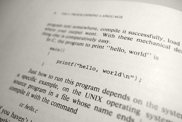 "printf(""hello, world\n"");"