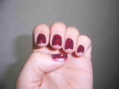 Short&Sassy (China glaze)+Gloss stone (sancion angel)