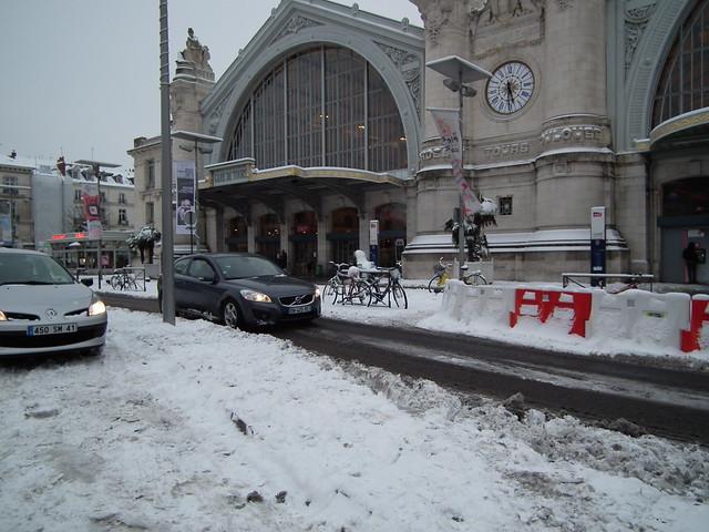 La Gare de Tours.