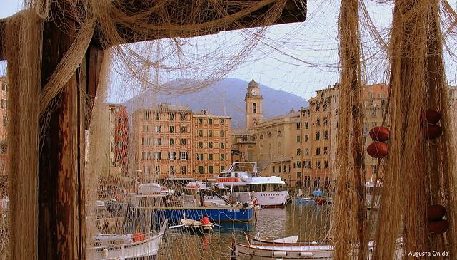 Una cartolina da Camogli...A postcard from Camogli.