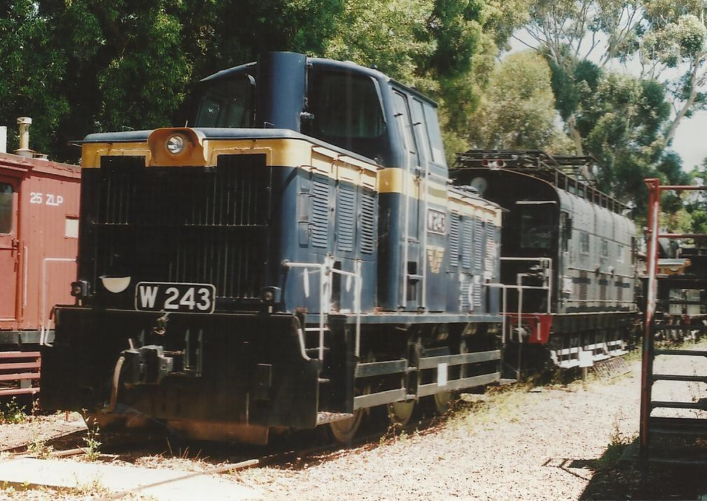 W 243 North Williamstown museum, Melbourne. John Coyle photo by John Coyle