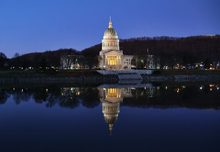 The West Virginia State Capitol Building in Charleston, WV | by o palsson