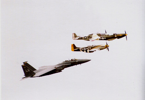 USAF Heritage flight | by tony_inkster