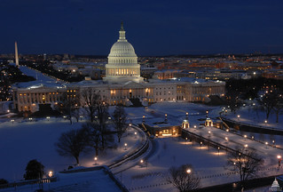 Snow in Washington, D.C. | by USCapitol