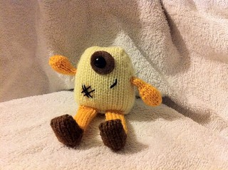 Pepe the Petite knit monster | by deinera