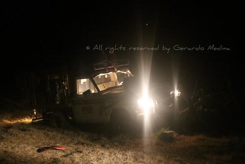 Campamento en Safari Nocturno