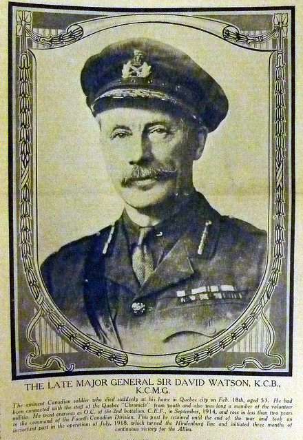 Maj-Gen Sir David Watson