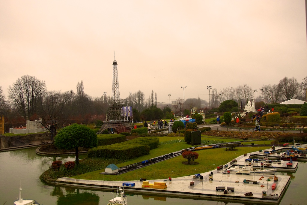 Mini Europe park overview