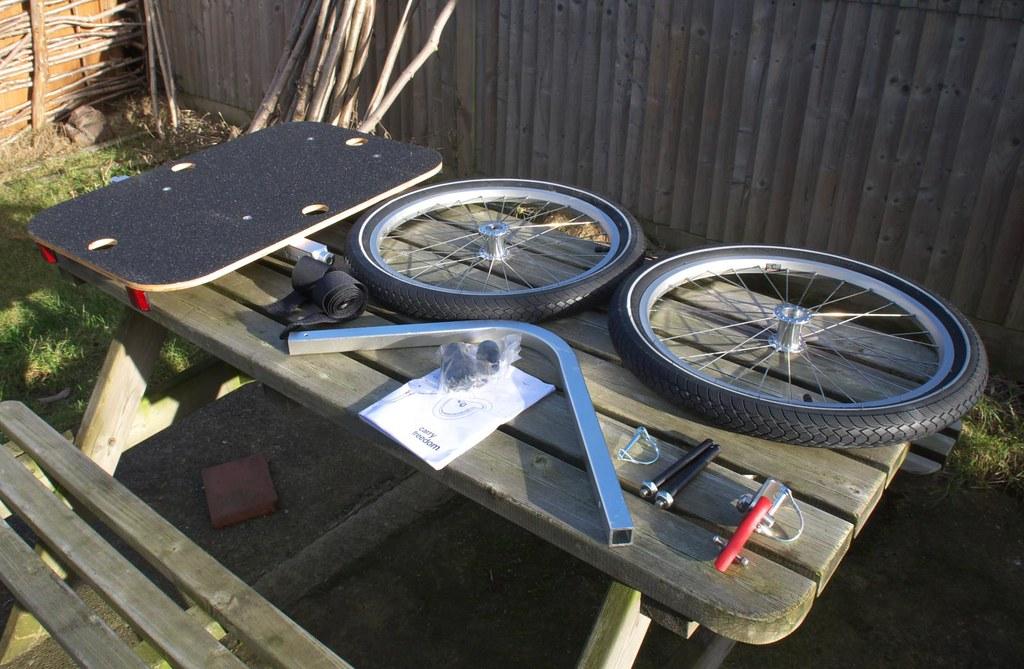 Carry Freedom Bike Trailer Parts Dsc 1231 Peplers Blogspot Flickr
