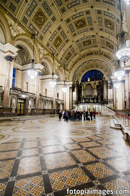 20120113 Liverpool - St George's Hall - Minton Tile Floor ...