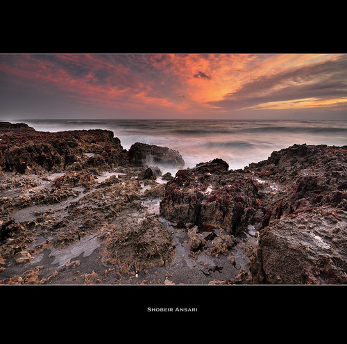 ocean seascape rock sunrise florida wave wideangle atlantic jupiter blowingrock southflorida sigma1020 blowingrockpreserve shobeiransari