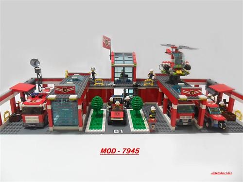MOD Set 7945 -Fire Station